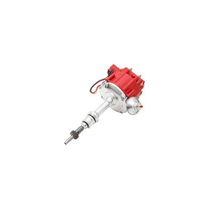 Top Street Performance JM6502-5R HEI Distributor with Red Cap