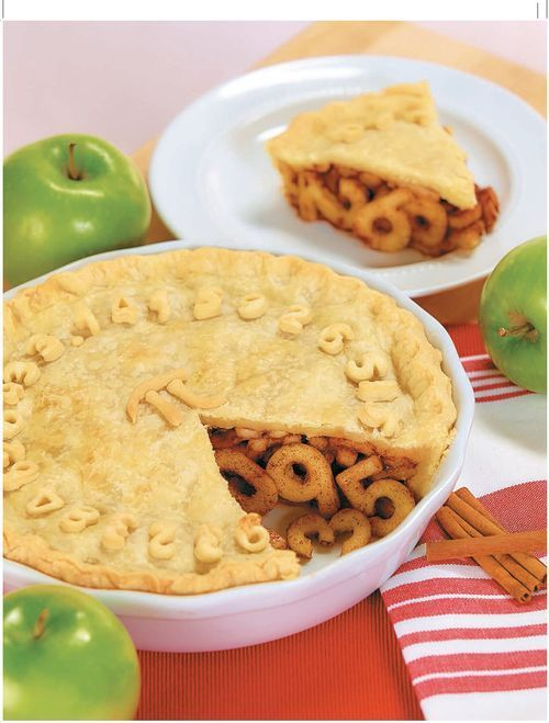 Apple Pi Pie, complete with number fruit!