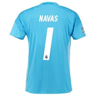 Real Madrid Home Goalkeeper Shirt 2016-17 with Navas 1 printing: Real Madrid Home Goalkeeper Shirt 2016-17… #RealMadridShop #RealMadridStore