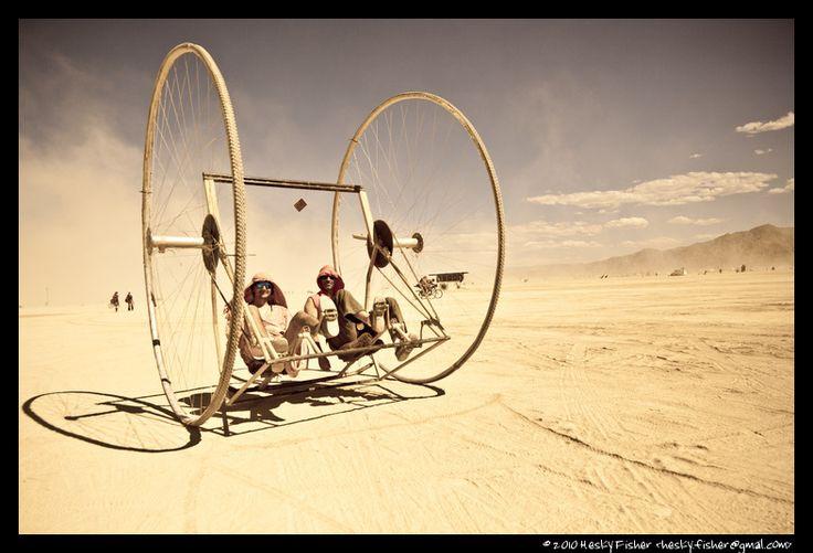 Burning Man bike