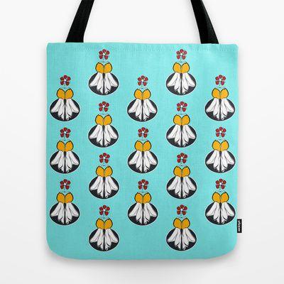 Kowhai & Manuka Tote Bag by lf.o