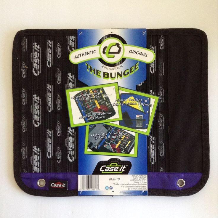 3 Ring Binder Insert Organizer The Bungee by Case it | Home & Garden, Kids & Teens at Home, School Supplies | eBay!