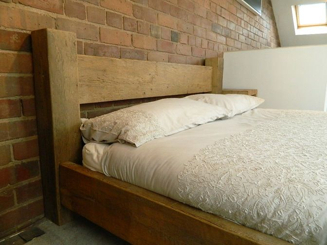 Hudson Loft Bed #eatsleeplive #Reclaimedwood #Rustic