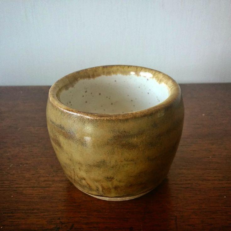 Ceramic glazed stoneware pottery Sake Glass - Lewis Ryan