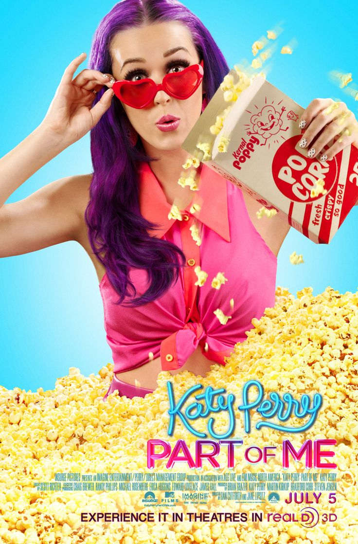 Exclusive: 'Katy Perry: Part of Me' Real D 3D Poster Premiere!Popcorn, Katyperry, Movie Posters, Great Movie, Cant Wait, Picture-Black Posters, Dreams, Fans, Katy Perry