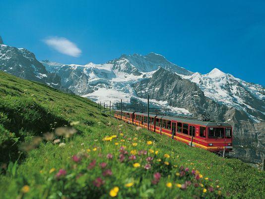 Swiss rail tour