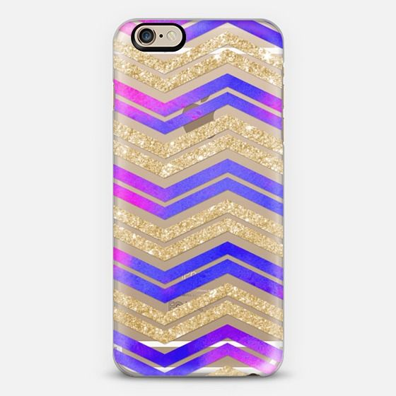 Pink/Purple & Gold Chevron -