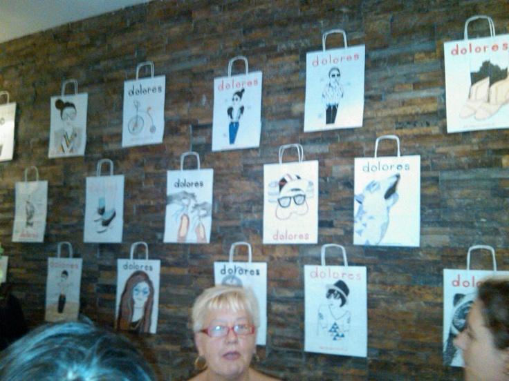 """Diseño de bolsas de edición limitada para la colección otoño/ invierno en """"Dolores""""."""