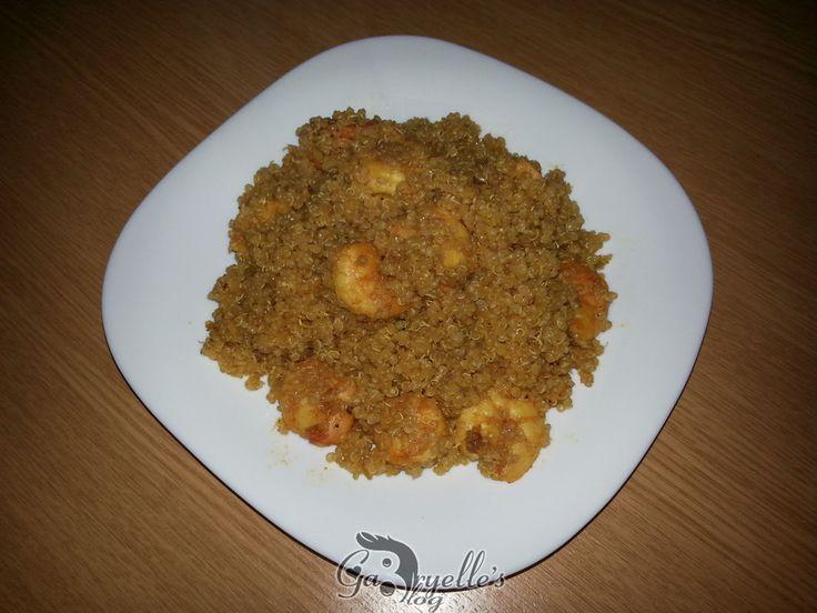 Quinoa cu creveti, o reteta rapida, gustoasa si sanatoasa