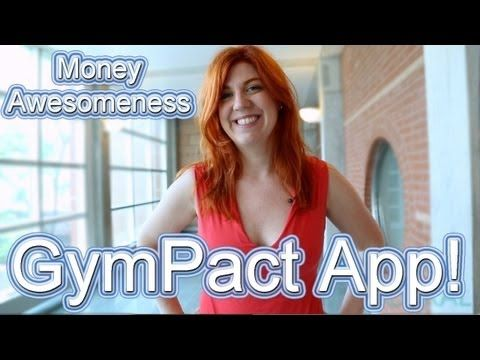 Money Awesomeness: GymPact App! Learn how this app with help keep you motivated to workout while also earning you extra $$! (Video)