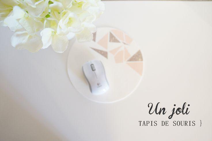 DIY tapis de souris | mousepad - Caely