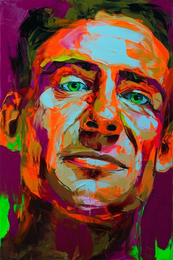colorful artwork | Explosive Colorful Portraits Paintings | Abduzeedo Design Inspiration