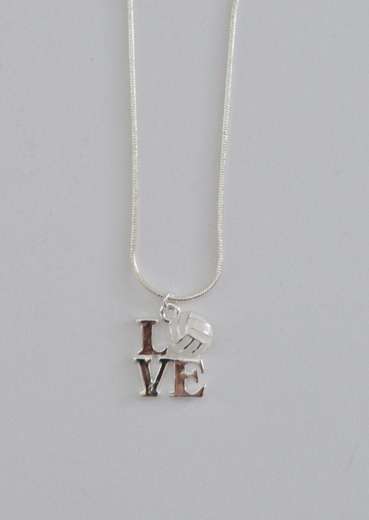 encanto de amor de voleibol. 16 cadena de la serpiente de plata. corchete de la langosta. cadena de extensión.
