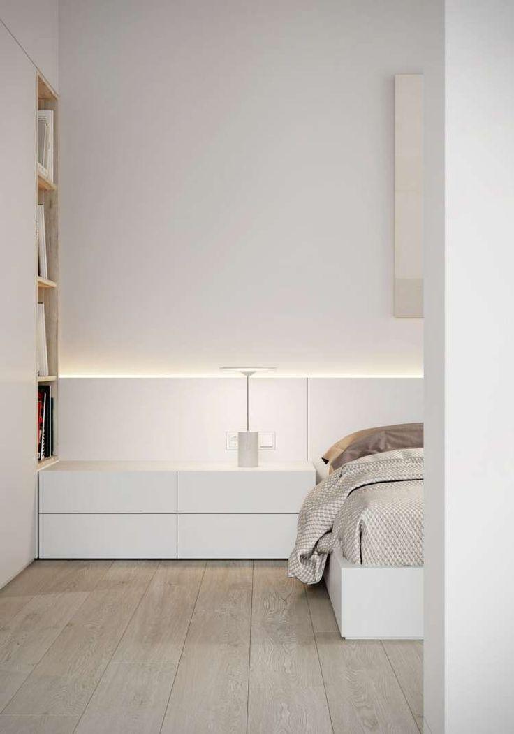 Эта минималистская квартира в Одессе, Украина была спроектирована дизайнерами студии M3 ARCHITECTS для молодого ИТ-специалиста