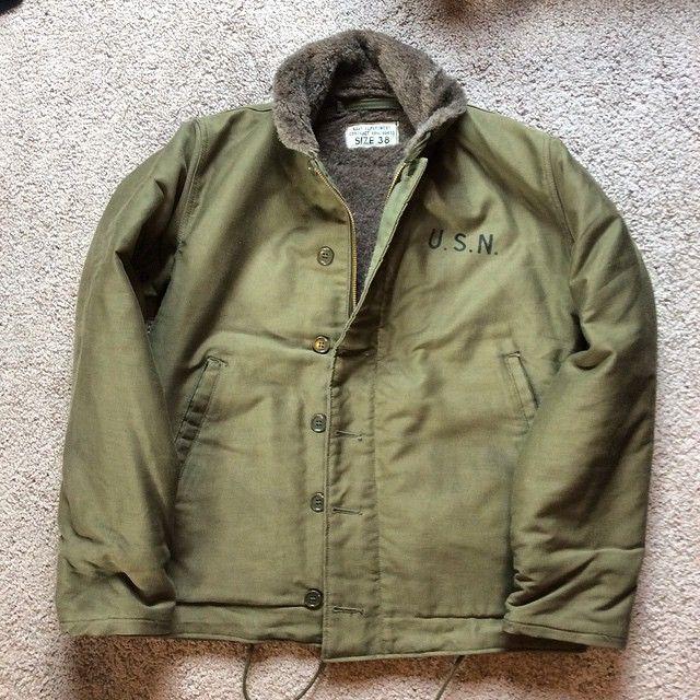 1940 S N-1 Deck Jacket Size 38. Deadstock  Padgram  96599ef3de85a