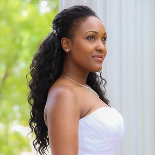 21 best african american wedding hairstyles images on Pinterest ...