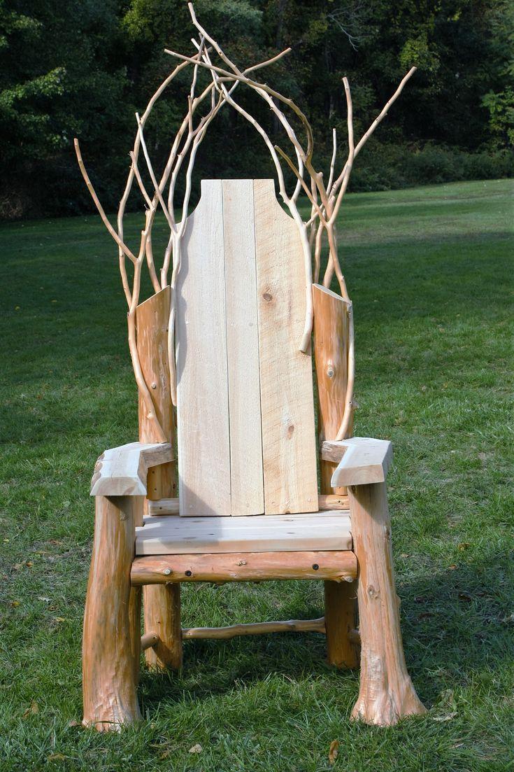 Rustic Throne Www Adkfenceandrail Com Rustic Design
