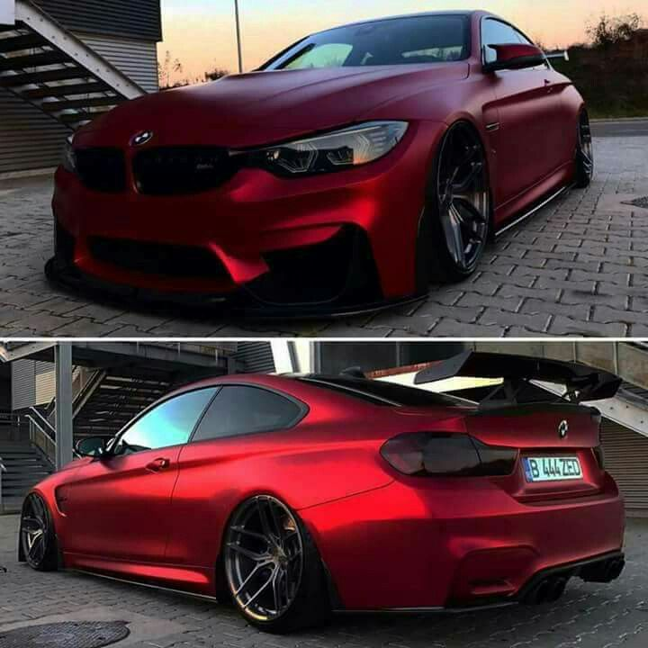 BMW Z-Performance F82 M4 red wing