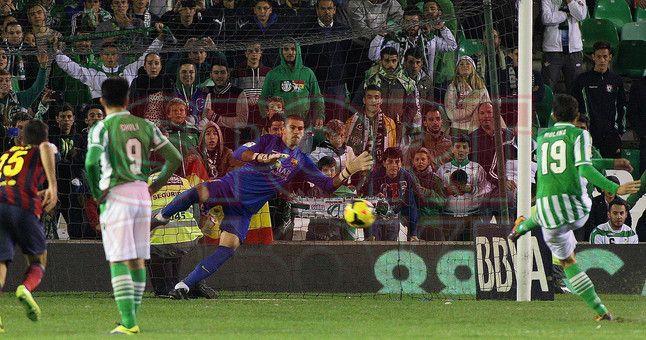 Betis, 1 - Barça, 4