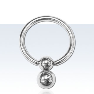 Ball Closure Ring- Also known as a BCR. This is a type of body jewellery that is very widely used as it is suitable for a large number of piercings such as the Nipple and most ear, mouth and genital piercings. The ring has a section which is open to allow it to be fitted in the piercing, this is then secured shut by a ball, hence the name ball closure. This type of jewellery is very secure and can be extremely comfortable to wear if the correct size is chosen. It comes in a variety of…
