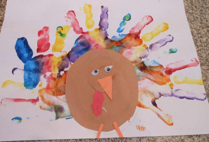 preschool thanksgiving crafts\ | fun thanksgiving turkey craft cute lil turkey craft preschool letter q ...