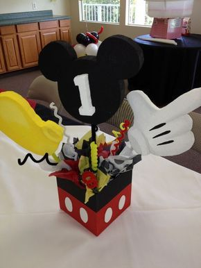 Cute and original Mickey Mouse Center Piece! $17.99: