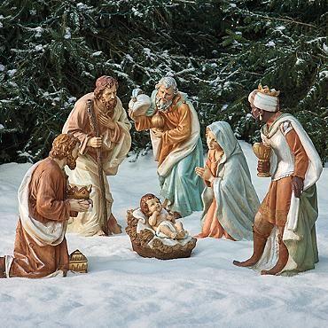Outdoor Nativity Set of Three Holy Family                                                                                                                                                                                 More