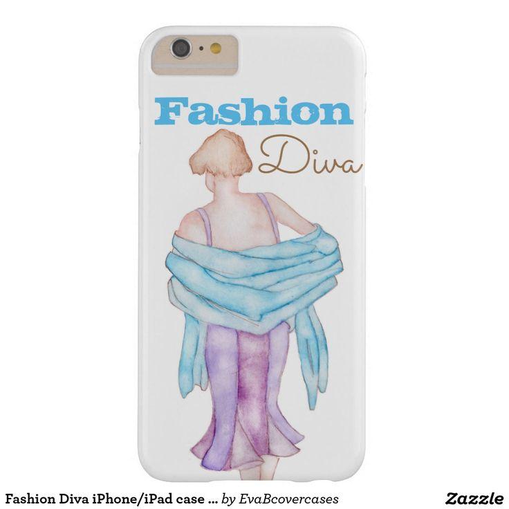 Fashion Diva iPhone/iPad case cover