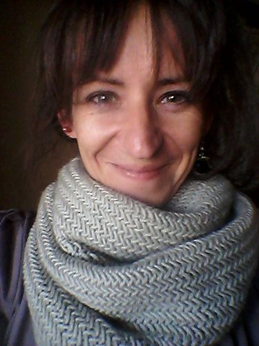 Luxurious Herringbone Cowl