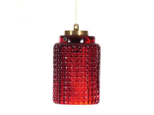 Mid-Century Modern Pendant Lamp from Reijmyre Glasbruk AB, 1950s for sale at Pamono