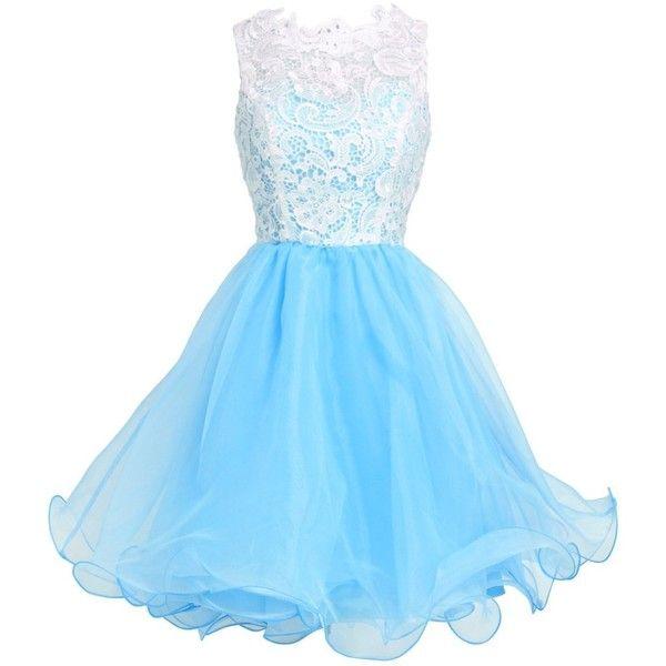 Fashion Plaza Princess Graduation Party Homecoming Dress D0250 ($50) ❤ liked on Polyvore