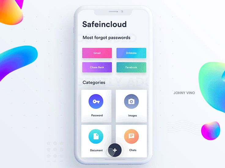 Safe-in-cloud Design by Johny vino™ - Dribbble