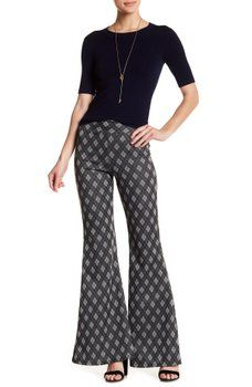 American Twist - Plaid Plazzo Pants