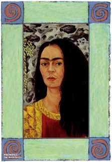 Frida kahlo self portrait essay