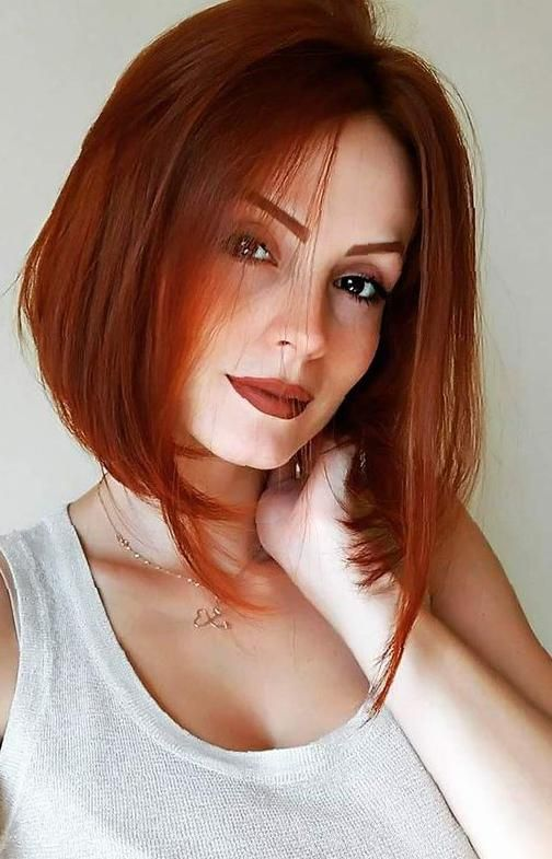 38 Attractive Red Hair Must Be Tried for Active Girls - SooShell | Short red hair, Red bob hair, Short hair styles