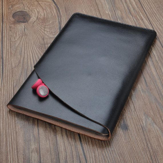 Handcrafted vegetable tanned leather iPad mini 1 2 3 4 by Onequeen