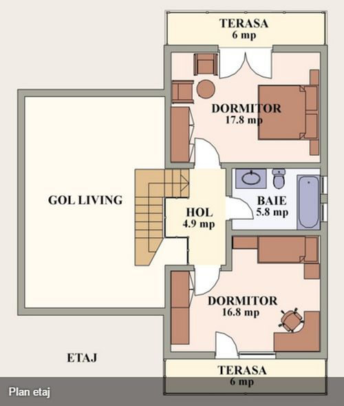 12 best plan casa images on Pinterest Boxes, Cases and House design - teppich f r k che