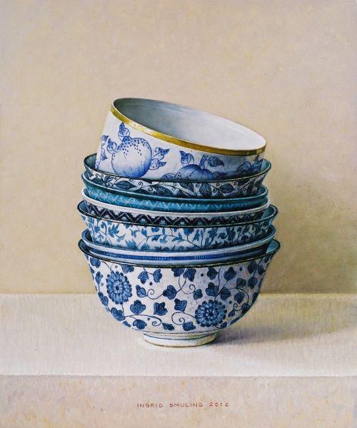 stapeling-met-blauwe-bloemetjes-2012-30-x-25-cm_0.jpg (500×600).. painter Ingrid Smuling - netherlands. NJ.