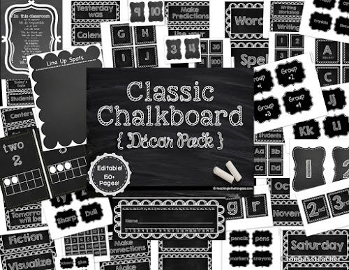 Black And White Classroom Decoration : Best ideas about chalkboard classroom on pinterest