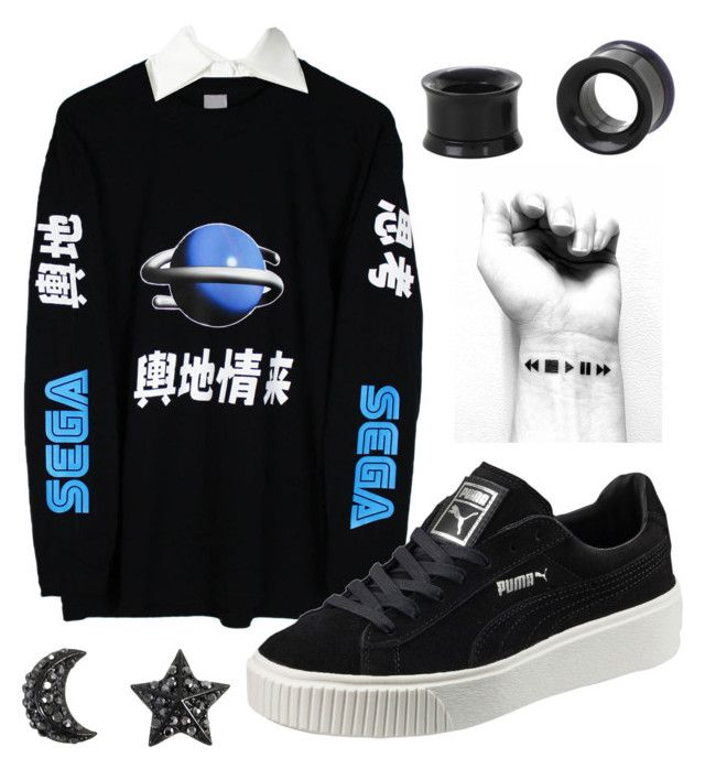 """""""Sega Stars."""" by glowprince on Polyvore featuring Sega, See by Chloé and Puma"""