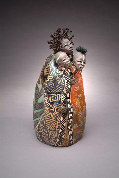 patricia boyd: figurative gourd sculpture | Daily Art Muse