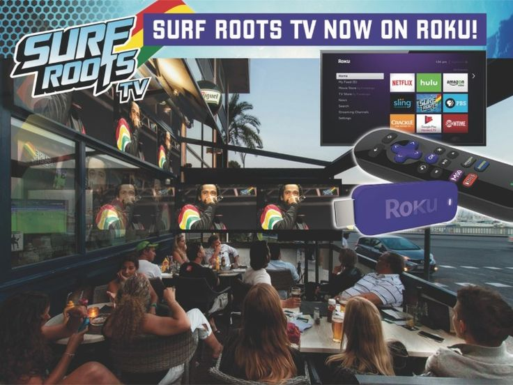 Surf Roots TV on Roku - First Reggae channel on TV!