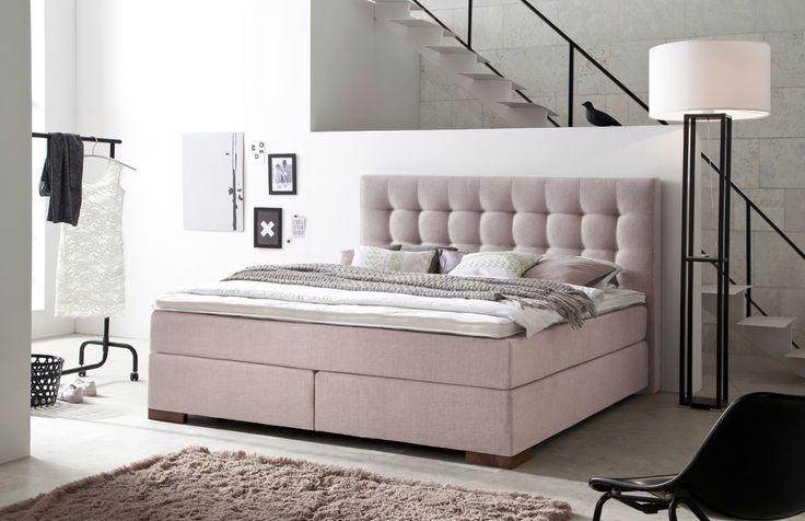 31 besten boxspringbetten mehr z rtlichkeit f r alle bilder auf pinterest billige betten. Black Bedroom Furniture Sets. Home Design Ideas
