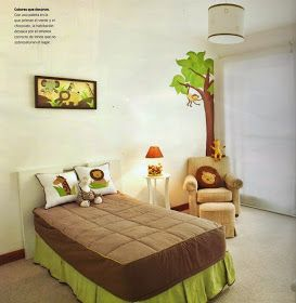 17 best images about dormitorios ni os on pinterest for Habitaciones decoradas para ninos