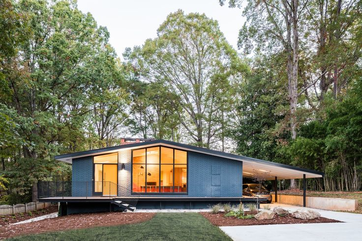Rescued from disorder and disrepair by In Situ Studio, a revived midcentury abode in Raleigh, North Carolina, is in search of a new owner.