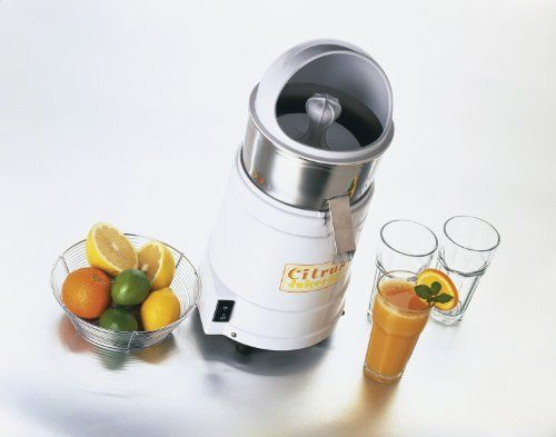 Waring Commercial JC4000 Heavy Duty Hi Power Citrus Juicer With Splashguard