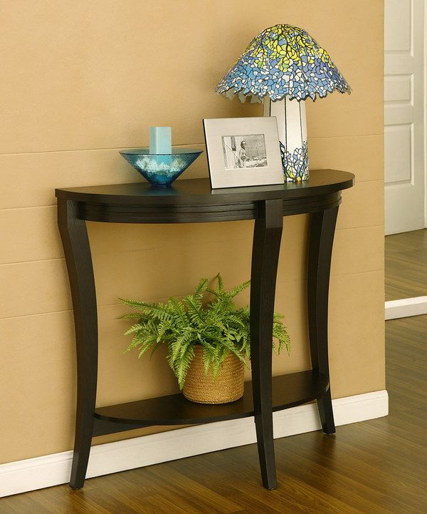 Another great find on #zulily! Cappuccino Jane Console Table by Furniture of America #zulilyfinds
