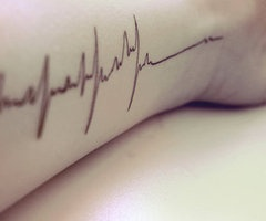 If I ever got a tat, not that it's ever going to happen.