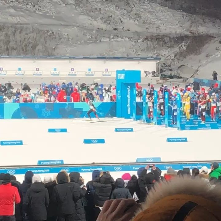 #Biathlon was visually one of the best sports events I have been to .  #winterolympics2018 #pyeongchang2018  #Pyeongchang #seoul  #Southkorea #wow  #Athletics #Boxing #happyfriday #France #Snow #F1 #UFC #Rugby #NRL #AFL #NBA #MLB #Olympics #Gym #Fitness #vr #skiing  #happythursday #sweden #canada #sportsvideo