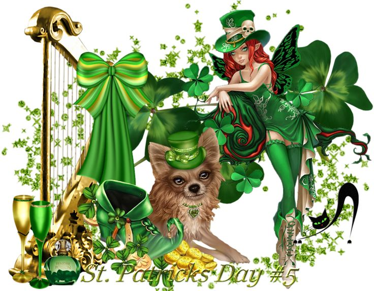 Design Wilds Cat: День Святого Патрика #5 St. Patricks Day #5